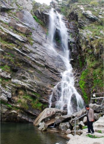 庐山大口瀑布